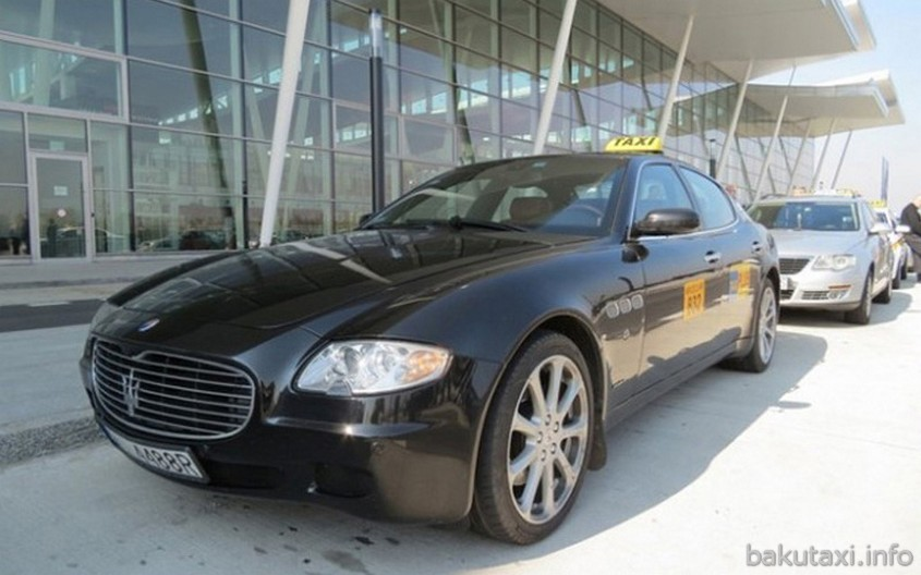Maserati Quattroporte Taxi