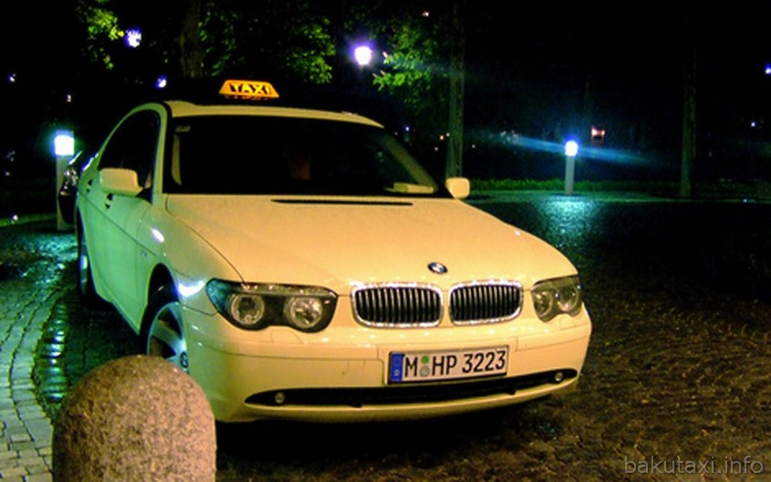 BMW 7-series Taxi