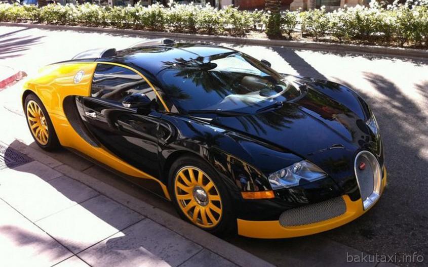 Bugatti Veyron Taxi