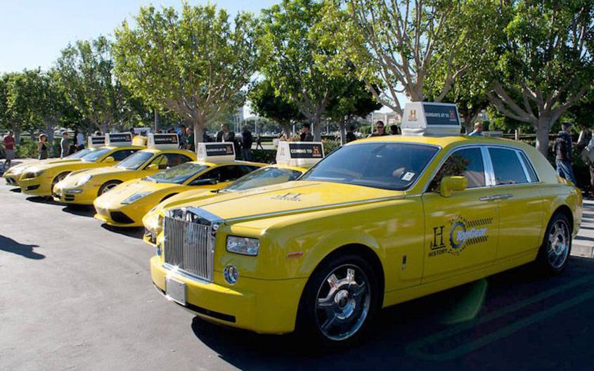 Rolls Royce Taxi