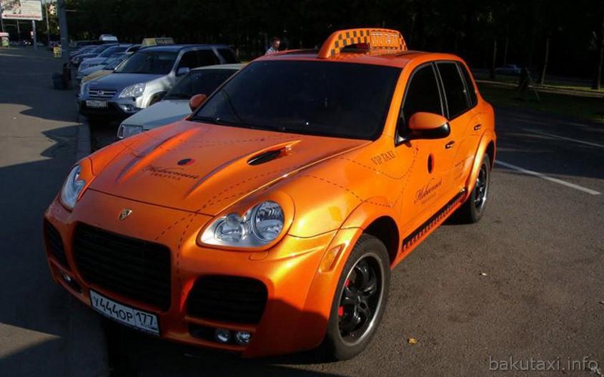 Porsche Cayenne Taxi