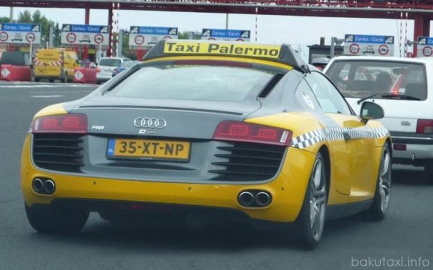 Audi R8 Taxi