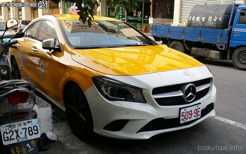 Mercedes-Benz CLA 200 Taxi