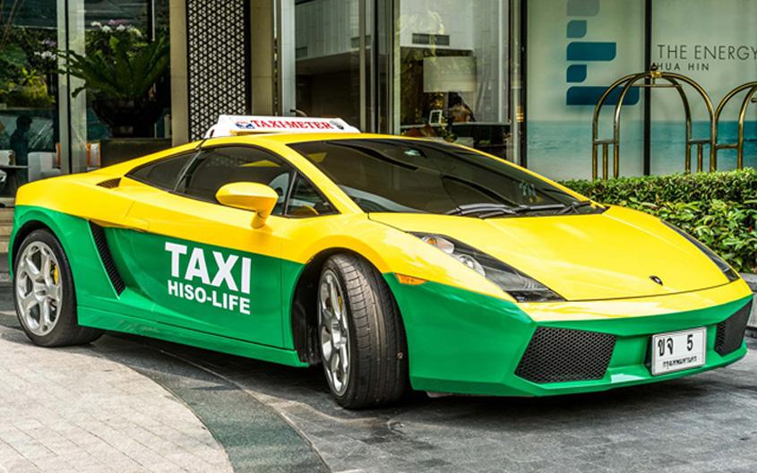 Lamborghini Gallardo Taxi