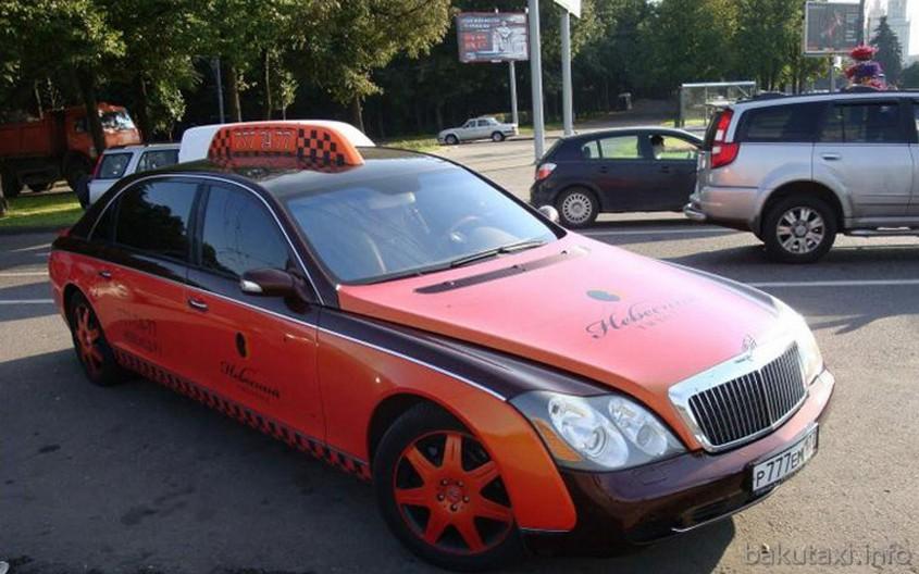 Maybach 57 Taxi