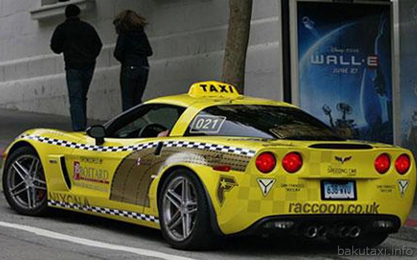 Chevrolet Corvette Taxi
